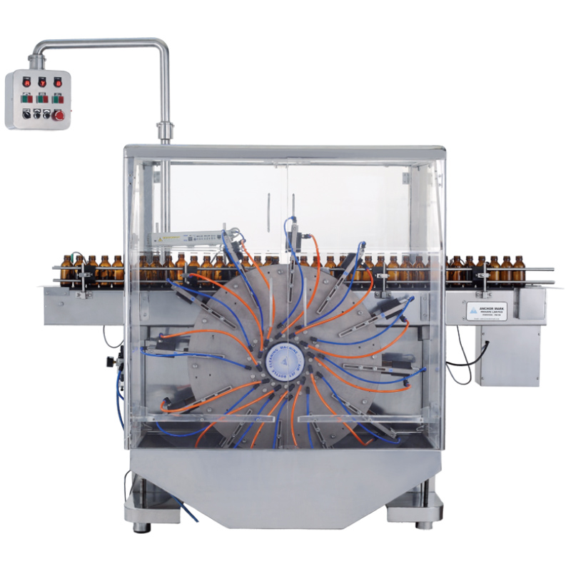 Automatic Airjet Bottle Cleaning Machine
