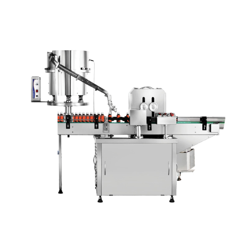 Automatic Dosage Cup Placing and Pressing Machine