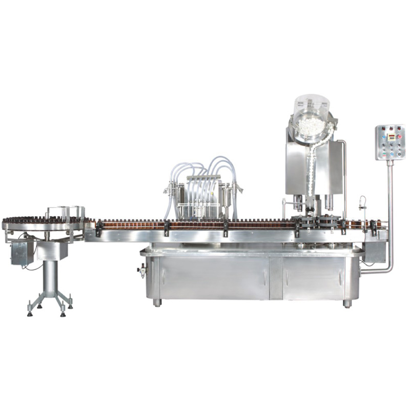 Automatic Linear Liquid Filling, Capping and Sealing Machine - LINOFILL Series