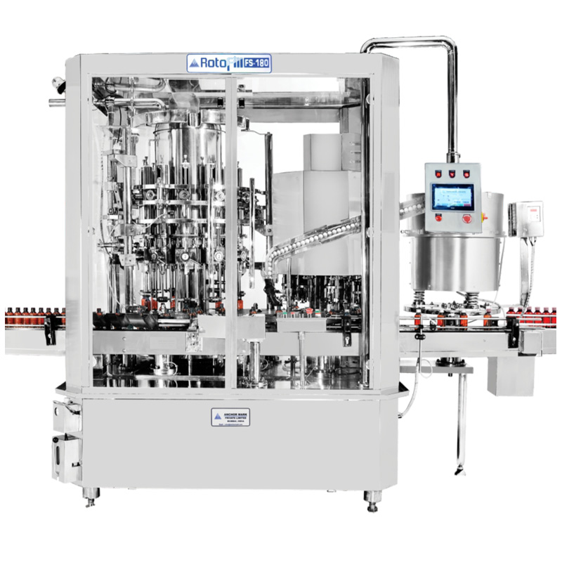 Automatic Rotary Filling,Capping and Sealing Machine - ROTOFILL SERIES