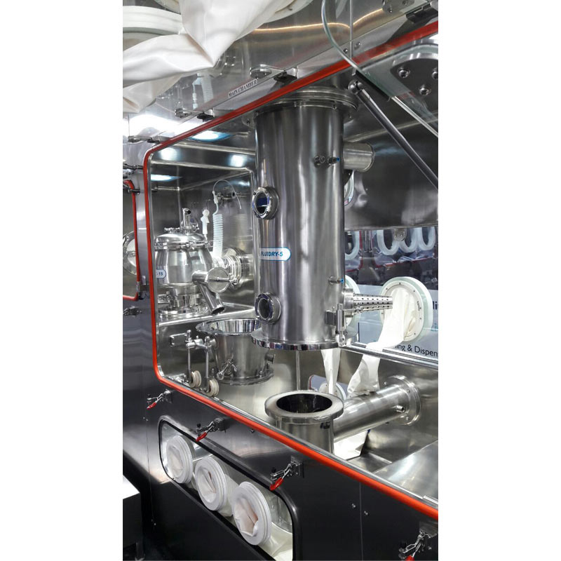 Isolator Compatible Granulation Line