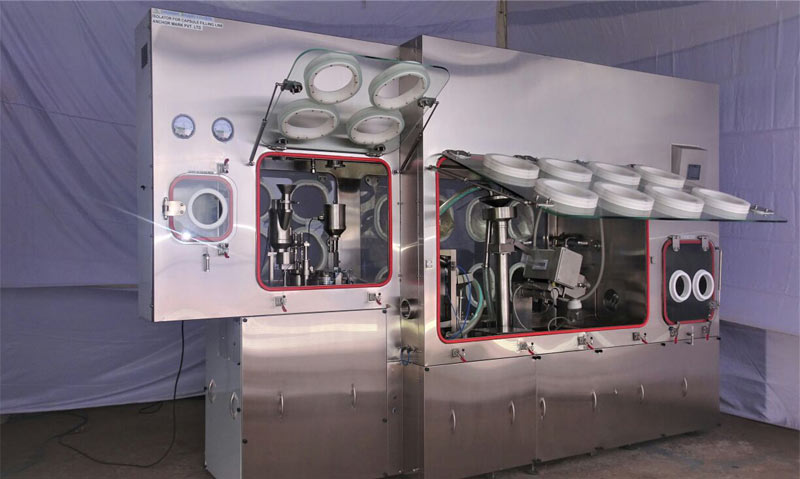 Isolator Compatible Automatic Capsule Filling Line - AMI-3